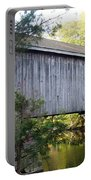 Babbs Covered Bridge In Maine Portable Battery Charger