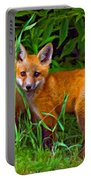 Babes In The Woods Impasto Portable Battery Charger