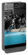 Baby Blue Benz Portable Battery Charger