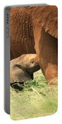 Baby Elephant Feeding Portable Battery Charger