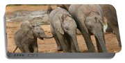 Baby Elephant Trio Portable Battery Charger