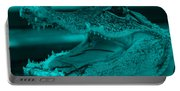 Baby Gator Turquoise Portable Battery Charger