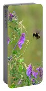 Baby Hummingbird Moth In Flight Portable Battery Charger