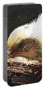 Baby Quail In Pastel Portable Battery Charger