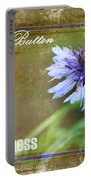 Bachelor Button Portable Battery Charger