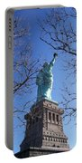 Back Of Liberty Portable Battery Charger