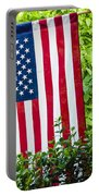 Back Porch Americana Portable Battery Charger by Carolyn Marshall