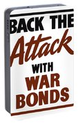 Back The Attack With War Bonds  Portable Battery Charger