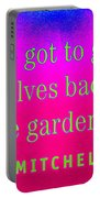 Back To The Garden Portable Battery Charger