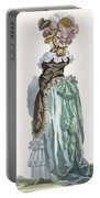Back View Of A Promenade Gown, Engraved Portable Battery Charger