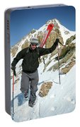 Backcountry Skiing, Citadel Peak, Co Portable Battery Charger