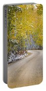 Backroads Of Autumn Portable Battery Charger