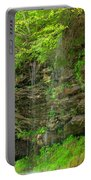 Backroads Waterfall In West Virginia Portable Battery Charger