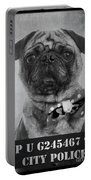 Bad Dog Portable Battery Charger by Edward Fielding