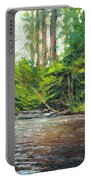 Badger Creek Above The Weir Portable Battery Charger