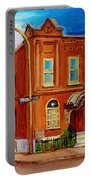 Bagg And Clark Street Synagogue Portable Battery Charger