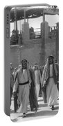 Baghdad Steet Scene Portable Battery Charger