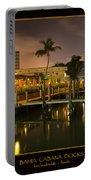 Bahia Cabana Docks Portable Battery Charger