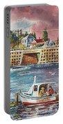 Bailey Island Cribstone Bridge Portable Battery Charger