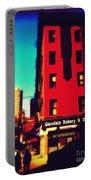 The Bakery - New York City Street Scene Portable Battery Charger