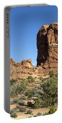 Balanced Rock Arches National Park Utah Portable Battery Charger