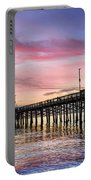 Balboa Pier Sunset Portable Battery Charger