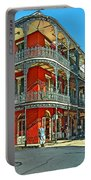 Balconies Painted Portable Battery Charger