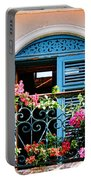 Balcony Blue By Diana Sainz Portable Battery Charger