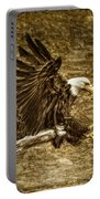 Bald Eagle Capture Portable Battery Charger