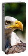 Bald Eagle Profile Portable Battery Charger