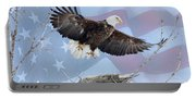 Bald Eagle Touch Of Pride Portable Battery Charger