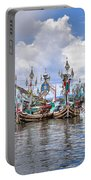 Balinese Fishing Boats Portable Battery Charger