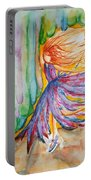 Ballerina Curtain Call Portable Battery Charger