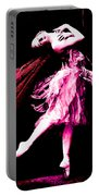 Ballerina Wings Pink Portrait Art Portable Battery Charger