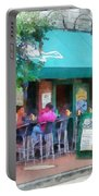 Baltimore - Happy Hour In Fells Point Portable Battery Charger