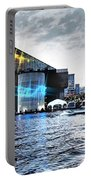 Baltimore - Harborplace - Inner Harbor At Night  Portable Battery Charger