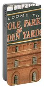 Baltimore Orioles Park At Camden Yards Portable Battery Charger by Frank Romeo