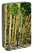 Bamboo Fencing Portable Battery Charger