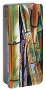 Bamboo Garden Portable Battery Charger by Marionette Taboniar
