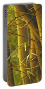 Bamboo Gold Portable Battery Charger