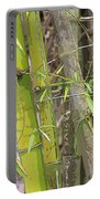 Bamboo I Poster Look Portable Battery Charger