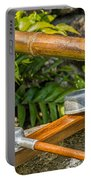 Bamboo Spout Portable Battery Charger