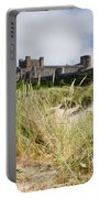 Bamburgh Castle From The Dunes Portable Battery Charger