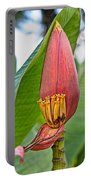 Banana Tree Flower Portable Battery Charger