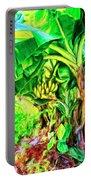 Bananas In Lahaina Maui Portable Battery Charger