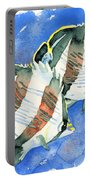 Banded Butterflyfish Portable Battery Charger