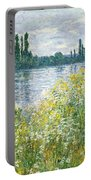 Banks Of The Seine Vetheuil Portable Battery Charger
