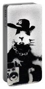 Banksy Boombox  Portable Battery Charger