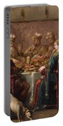 Banquet Scene Portable Battery Charger