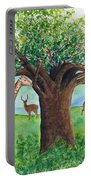 Baobab And Giraffe Portable Battery Charger
